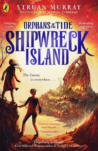 Shipwreck Island - Orphans of the Tide (Paperback)