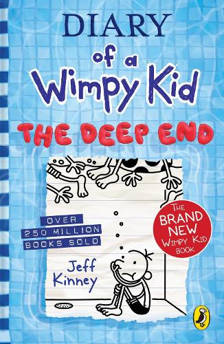 Diary of a Wimpy Kid: The Deep End (Book 15) - Diary of a Wimpy Kid (Hardback)