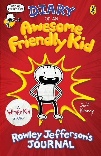 Diary of an Awesome Friendly Kid: Rowley Jefferson's Journal - Diary of a Wimpy Kid (Paperback)