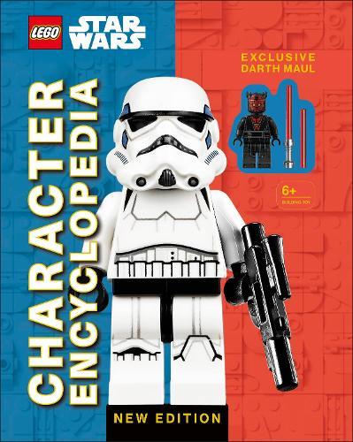 LEGO Star Wars Character Encyclopedia New Edition: with exclusive Darth Maul Minifigure (Hardback)