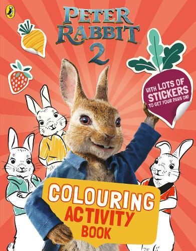 Peter Rabbit Movie 2 Colouring Sticker Activity (Paperback)