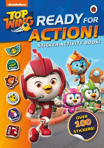 Top Wing: Ready for Action!: Sticker Activity Book - Top Wing (Paperback)
