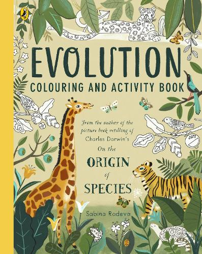 Evolution Colouring and Activity Book (Paperback)
