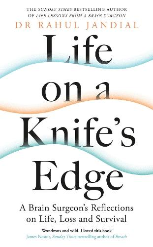 Life on a Knife's Edge: A Brain Surgeon's Reflections on Life, Loss and Survival (Hardback)