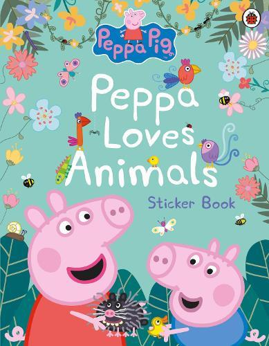 Peppa Pig: Peppa Loves Animals - Peppa Pig (Paperback)