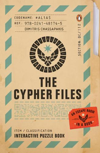 The Cypher Files: An Escape Room... in a Book! (Paperback)