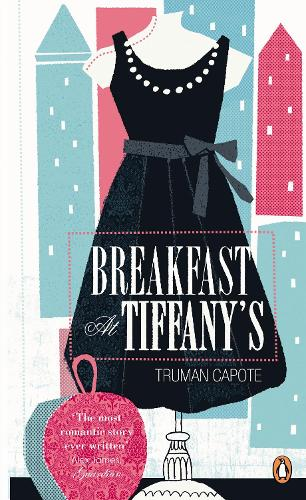 Cover of the book, Breakfast at Tiffany's.