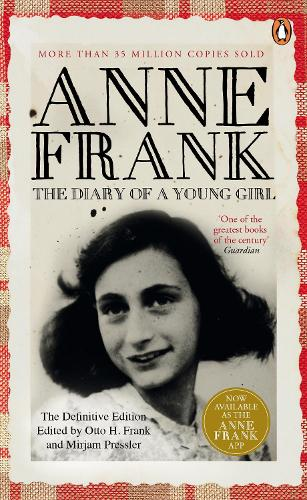 Cover of the book, The Diary of a Young Girl.