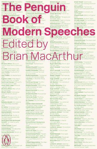 The Penguin Book of Modern Speeches (Paperback)