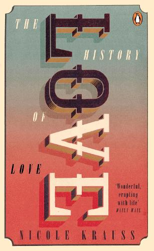 Image result for a history of love nicole krauss