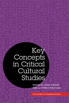 Key Concepts in Critical Cultural Studies - History of Communication (Hardback)