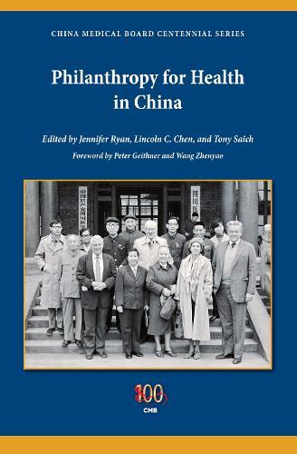 Philanthropy for Health in China - Philanthropic and Nonprofit Studies (Paperback)