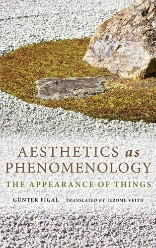 Aesthetics as Phenomenology: The Appearance of Things - Studies in Continental Thought (Hardback)