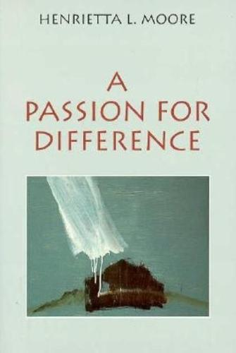 A Passion for Difference (Hardback)