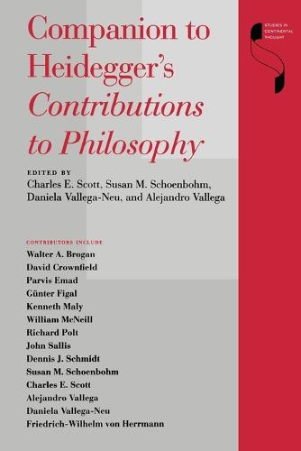 Companion to Heidegger's Contributions to Philosophy - Studies in Continental Thought (Paperback)