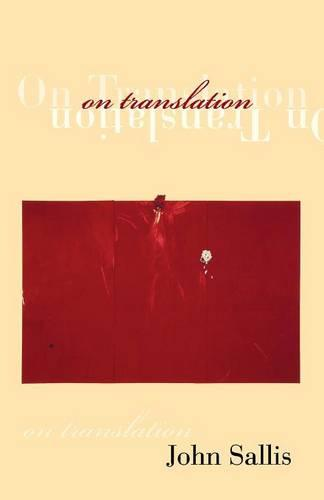 On Translation - Studies in Continental Thought (Paperback)