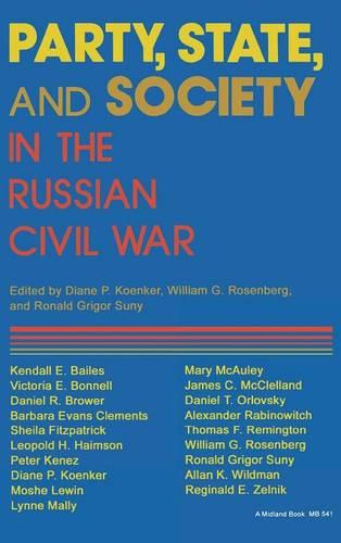 Party, State, and Society in the Russian Civil War: Explorations in Social History (Hardback)