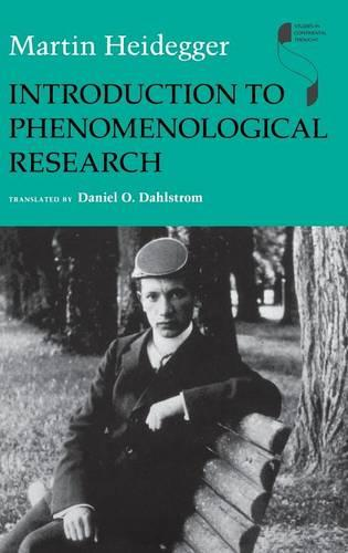 Introduction to Phenomenological Research (Hardback)