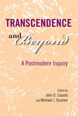 Transcendence and Beyond: A Postmodern Inquiry - Indiana Series in the Philosophy of Religion (Hardback)