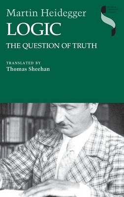 Logic: The Question of Truth - Studies in Continental Thought (Hardback)