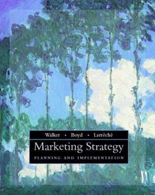 Marketing Strategy: Planning and Implementation (Hardback)