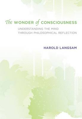The Wonder of Consciousness: Understanding the Mind through Philosophical Reflection - The MIT Press (Hardback)
