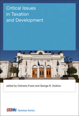 Critical Issues in Taxation and Development - CESifo Seminar Series (Hardback)