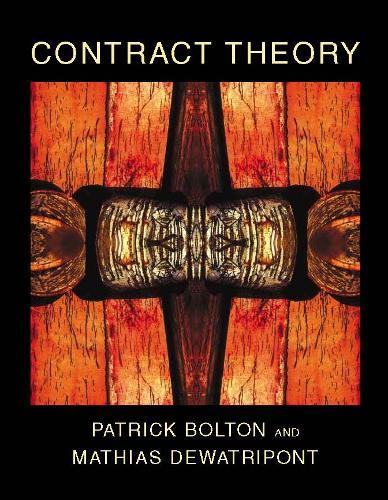 Contract Theory - The MIT Press (Hardback)