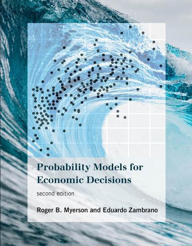Probability Models for Economic Decisions - The MIT Press (Hardback)