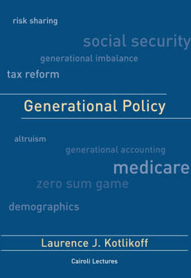 Generational Policy - Cairoli Lectures (Hardback)