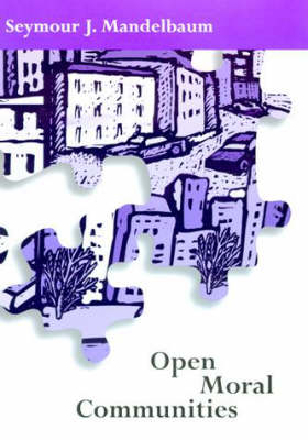 Open Moral Communities - Open Moral Communities (Hardback)
