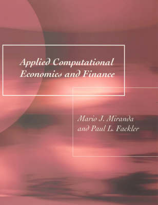 Applied Computational Economics and Finance (Hardback)