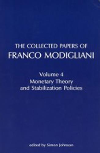 The Collected Papers of Franco Modigliani: Volume 1: Essays in Macroeconomics - The MIT Press (Paperback)