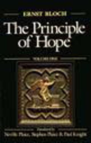 The Principle of Hope: Volume 1 - Studies in Contemporary German Social Thought (Paperback)