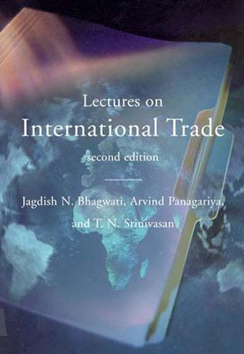 Lectures on International Trade - The MIT Press (Paperback)