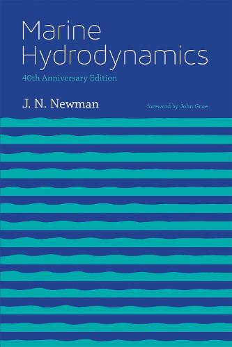 Marine Hydrodynamics - The MIT Press (Paperback)