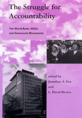 The Struggle for Accountability: The World Bank, NGOs, and Grassroots Movements - Global Environmental Accord: Strategies for Sustainability and Institutional Innovation (Paperback)