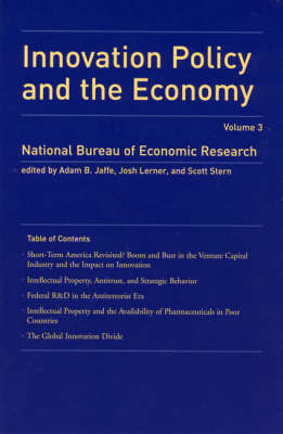 Innovation Policy and the Economy - Innovation Policy and the Economy (Paperback)
