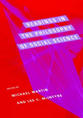 Readings in the Philosophy of Social Science - A Bradford Book (Paperback)