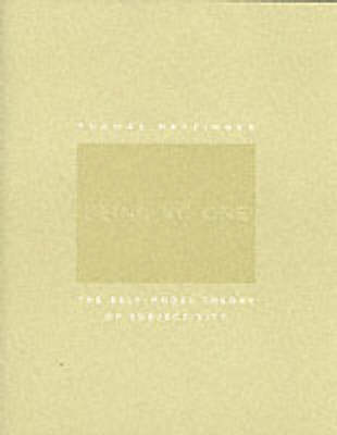 Being No One: The Self-Model Theory of Subjectivity - A Bradford Book (Paperback)