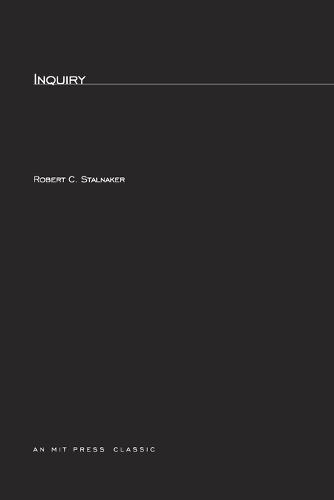 Inquiry - MIT Press (Paperback)
