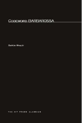 Codeword Barbarossa - MIT Press (Paperback)