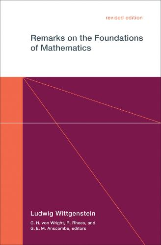 Remarks on the Foundations of Mathematics - The MIT Press (Paperback)