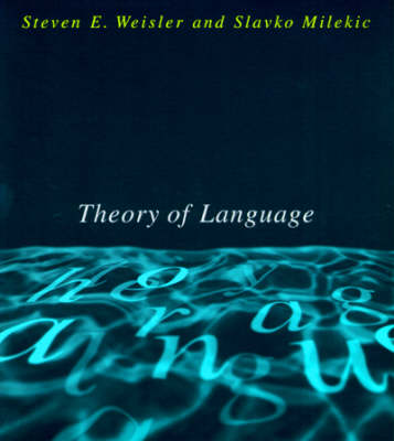 Theory of Language - A Bradford Book (Paperback)