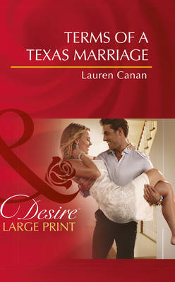 Terms Of A Texas Marriage (Hardback)