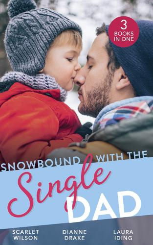 Snowbound With The Single Dad: Her Firefighter Under the Mistletoe / Christmas Miracle: a Family / After the Silence (Paperback)