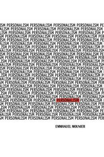 Personalism (Paperback)