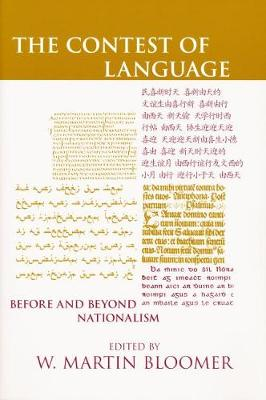 The Contest of Language: Before and Beyond Nationalism (Hardback)
