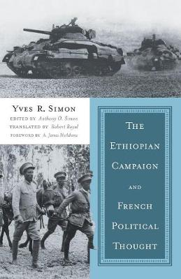 The Ethiopian Campaign and French Political Thought (Paperback)