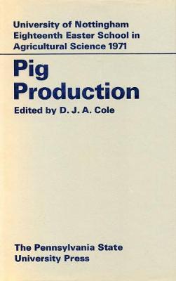 Pig Production (Hardback)